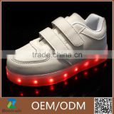 2016 new style colorful children shoes, led light for kids shoes