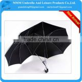 2014 Black men love shape double heart shape umbrella