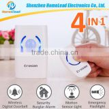 2015 Christmas Promotion Home Security System High Quality Brands Doorbell With Burglar Alarm System