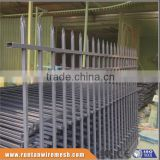 Factory hot dipped galvanized and powder coated oornamental iron fence in Industries and workshop (Tread Assurance)