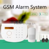RFID GSM Alarm system self-check door/window status & smart home automation security alarm system with IP camera