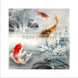 Hot 3D framed Picture of natural scenery fish