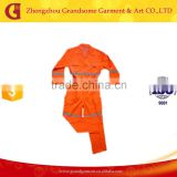 Competitive Price Safety Workwear High Visibility Reflective Coverall best selling in the Middle East
