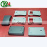 CNC machining electronic case plastic prototype,CNC engraving plastic parts with printing