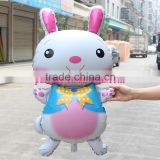 Latest design rabbit shape balloon for kid's toys /self sealing balloon (96*48cm)globos