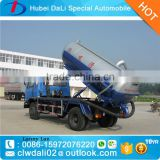 6000 liters Dongfeng 4*2 vacuum sewage suction truck