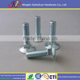 Flat Head Square Neck Galvanized Carriage Bolts
