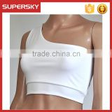 K-80 Bra Top Athletic Vest Gym Fitness Sports Yoga Stretch Push up Sports Bra with Removable Pads