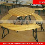 wooden beer table sets round wood dining table garden wooden table and bench set