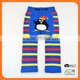 Customer Brand Baby Legging with wide back panel animal girl tube sock