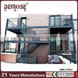 prefabricated stairs outdoor/iron stairs for outside prices