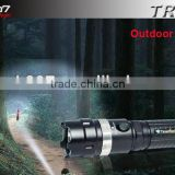 Big Power Rechargeable flashlight WithCree XP-G R5 Gun Lamp TANK007 TR01