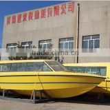 37ft fiberglass high speed cabin passenger boat for 34-40 seat                                                                         Quality Choice
