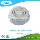 standalone photoelectric smoke detector,home security alarm, PA-424A, CE&ROHS&EN14604