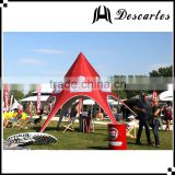 Korea single star event tents, star shade canopy,custom advertising star tents for trade show