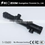 1-10x30 FFP Scope First/Front Focal Plane Scopes 35MM Tactical ffp Riflescopes Mil-dot Hunting 223 308 338 .50