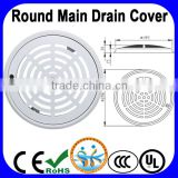 Swimming pool main drain cover, ABS main drainage                                                                         Quality Choice