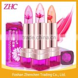 Hengfang Organic Black Chrysanthemum Essence Color change Jelly Flower Lipstick Lip Blam Lip Care