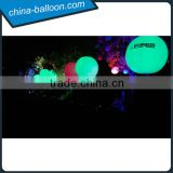 electric run show inflatable standing balloon,led inflatable helium balloon with standing