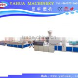 pvc profile extrusion machine/Wood Plastic Composite profile extrusion machine/pvc doors and windows making machine