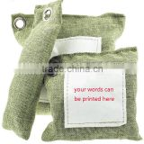 natural moso bamboo charcoal air purifying bag