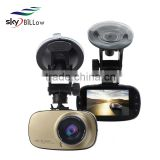 1080P 2.7inch car black box dvr camera recorders dual camera with cycle recording functions