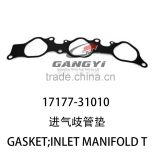 latest best selling exhaust manifold gasket 17177-31010 of toyota hilux diesel double cab