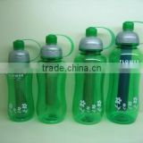 Plastic water bottles with ice stick outdoor space bottle