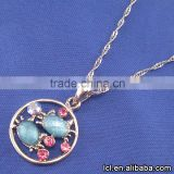 From china cat necklace, low price glass terrarium animal necklace