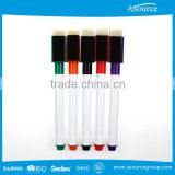 High Quality Whiteboard Marker Pen with Brush and Magnet