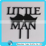 Little Man Silhouette Party Decoration Wedding/Birthday Cake Topper