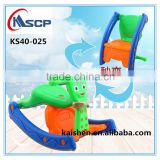 Hot sale kids toy plastic rocking horse cars/ best quality children Turns into a rocking chair/ baby cars