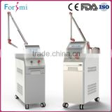 Korea imported 7 joints light guiding arm more secure blemish removal machine with 3 years warranty