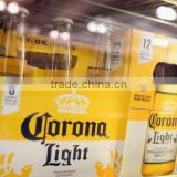 Corona beer 330ml bottle and corona beer extra 355ml bottle