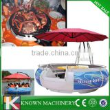 Wonderful BBQ donut boat for entertainment, BBQ leisure boat, Entertainment BBQ donut boat