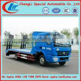 Yuejin Light flat bed truck,eacxcavator truck,flat bed recovery truck 8tons