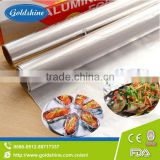 standard aluminum foil for chocolate wrapper for food