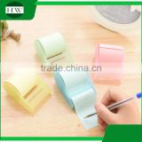 promotional wholesale office stationery mini portable tear roll sticky note withadhesive tape holder