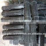bwg18 black straight cut wire