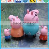 Guang dong vinyl toy maker, Custom vinyl pig toys, palstic vinyl pig toy for kids