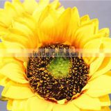 Home garden decorative wedding 70cm Height artificial plastic Flower bronze Bushing 3 head sunflower EMG11 21W11