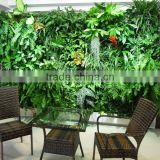 Anti UV/fire fake plant wall decoration artificial succulent plant wall subtropical plant wall