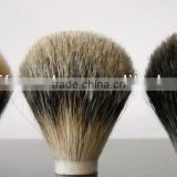100% handmade Badger hair shaving brush knots