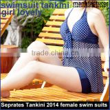 Swimwear Custom cheap design Tankini one piece Girl Swimsuit
