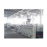CPVC Pipe Plastic Extruder Machine / Plastic Extrusion Machines 51 / 105mm Screw Dia