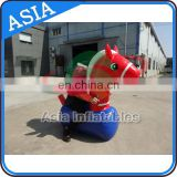 New design inflatable pony hops with big ear for outdoor