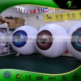 Large Inflatable Contact Lenses Store Advertising Display Inflatable Eye LED Ball Replica Trade Show Balloon