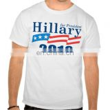 100% American Cotton Custom T shirt Printing For 2017 American Presidential Election