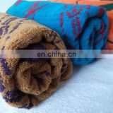 cotton velour embroidery design fancy hand towel/towel kitchen