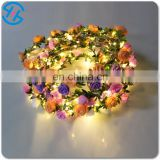 Beautiful rose flower garland for wedding